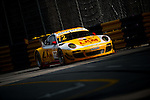 Earl bamber races the Macau GT Cup during the 61st Macau Grand Prix on November 14, 2014 at Macau street circuit in Macau, China. Photo by Aitor Alcalde / Power Sport Images