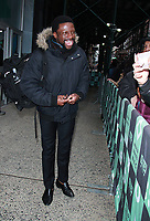 NEW YORK, NY February 06, 2018:Michael Luwoye at Build Series  to talk about working on Hamilton  in New York. February 06, 2018. Credit:RW/MediaPunch