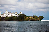 JAMAICA, Port Antonio. The Trident Castle in Port Antonio on Jamaica's northeast coast.