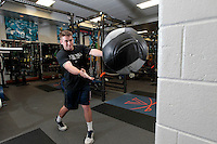 20140521_Weight Room Work out at UVa