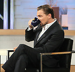 NEW YORK, NY - MAY 8: Leonardo DiCaprio at Good Morning America in New York City to discuss his new film 'The Great Gatsby'. May 8, 2013...Credit: MediaPunch/face to face..- Germany, Austria, Switzerland, Eastern Europe, Australia, UK, USA, Taiwan, Singapore, China, Malaysia, Thailand, Sweden, Estonia, Latvia and Lithuania rights only -
