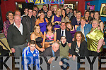 Birthday Girl - Emma O'Brien, seated centre having a ball with family and friends at her 21st birthday bash held in The Tankard on Saturday night............................................................................................................................ ............