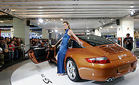 A Porsche 911 Targa 4S is shown in The Beijing International Automobile Exhibition, Beijing, China..19 Nov 2006