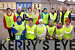 GOOD FRIDAY WALK: Walking to raise funds for the Kerry Hospice Foundation in Cahersiveen on Friday morning last were front l-r: Cecilia Ring, Mary Murphy, Mildred Casey, Marie O'Shea, Mary O'Shea, Mary Shanahan. Back l-r: Mary T O'Sullivan, Con Curran, Orna Murphy, Laura Murphy, Anne Bowler, Janette Murphy and Christy O'Connell.