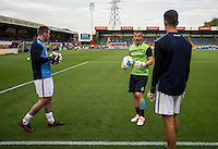 during the Pre-Season Friendly match between Wycombe Wanderers and Queens Park Rangers at Adams Park, High Wycombe, England on the 22nd July 2016. Photo by Liam McAvoy / PRiME Media Images.