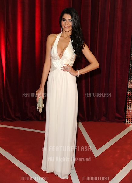 Natalie Anderson arriving for the British Soap Awards 2013, at Media City, Manchester. 18/05/2013 Picture by: Steve Vas / Featureflash