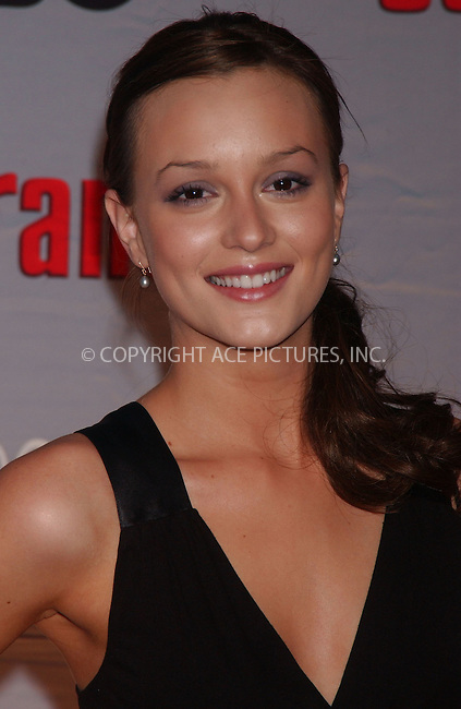 WWW.ACEPIXS.COM . . . . .....March 27, 2007. New York City......Leighton Meester attends 'The Sopranos' World Premiere held at Radio City Music Hall.  ....Please byline: Kristin Callahan - ACEPIXS.COM..... *** ***..Ace Pictures, Inc:  ..Philip Vaughan (646) 769 0430..e-mail: info@acepixs.com..web: http://www.acepixs.com