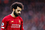Mohamed Salah of Liverpool during the Premier League match at Anfield, Liverpool. Picture date: 1st February 2020. Picture credit should read: James Wilson/Sportimage