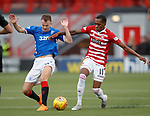 21.10.2018 Hamilton v Rangers: Andy Halliday and Mickel Miller
