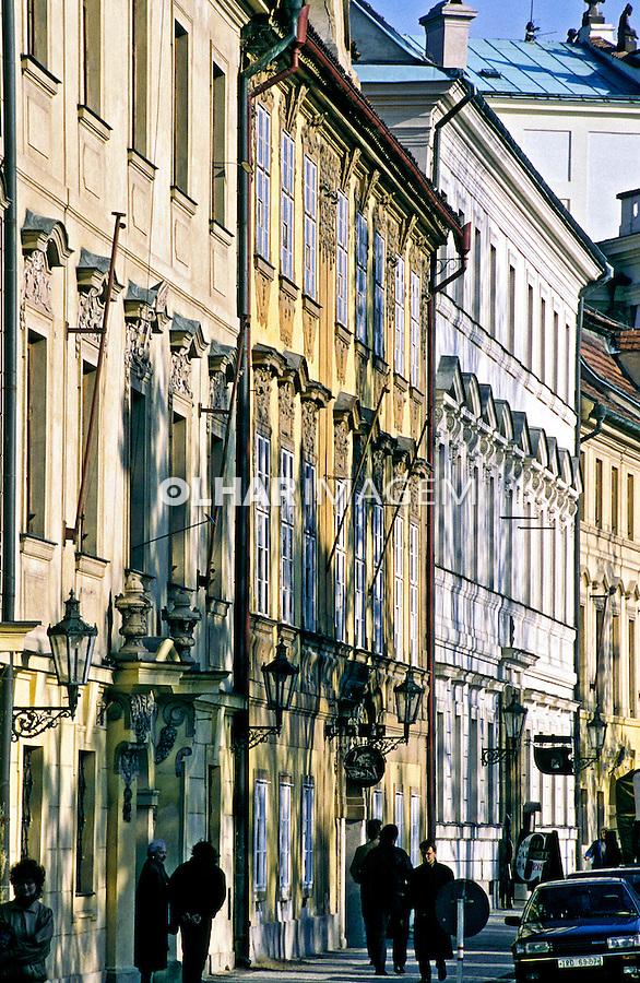 Vista da cidade de Praga, República Tcheca. 1995. Foto de João Caldas.