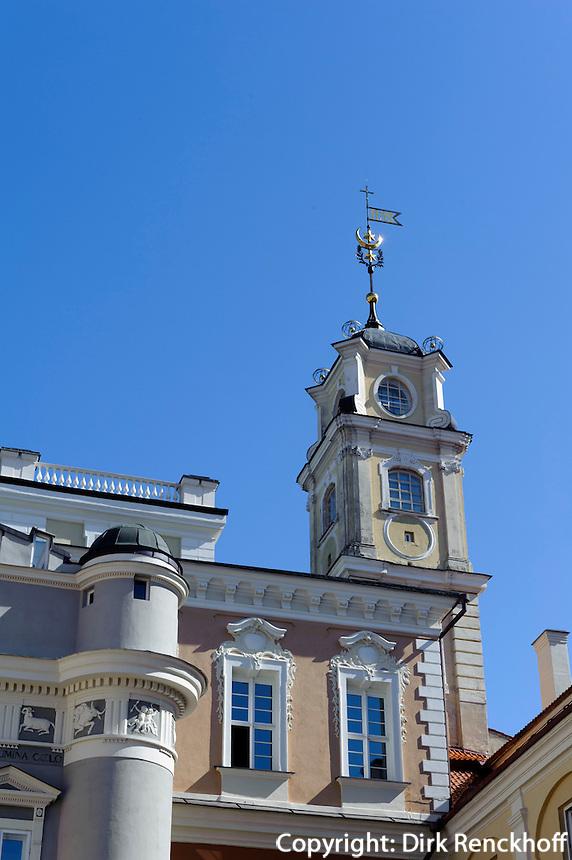 Observatorium in der Universität in Vilnius, Litauen, Europa, Unesco-Weltkulturerbe
