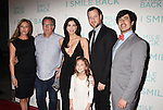 HOLLYWOOD, CA - OCTOBER 21: (L-R) Co-writer Paige Dylan, producer Richard Arlook, actresses Sarah Silverman, Mia Barron, director Adam Salky and Broad Green co-founder Daniel Hammond arrive at the premiere of Broad Green Pictures' 'I Smile Back' at ArcLight Cinemas on October 21, 2015 in Hollywood, California.