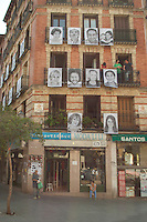 Walking in Madrid, Faces