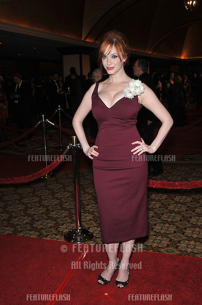 Christina Hendricks at the 62nd Annual Directors Guild of America Awards at the Hyatt Century Plaza Hotel..January 30, 2010  Los Angeles, CA.Picture: Paul Smith / Featureflash