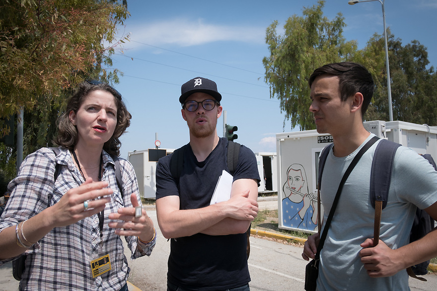 Mitch Moffit and Greg Brown, creators of ASAP Science YouTube Channel visit Kara Tepe Site on the Greek island of Lesvos, where hundreds of refugees are accommodated as they wait to their procedure. Interview subjects include Lucy Carrigan, IRC Regional Communications Coordinator.