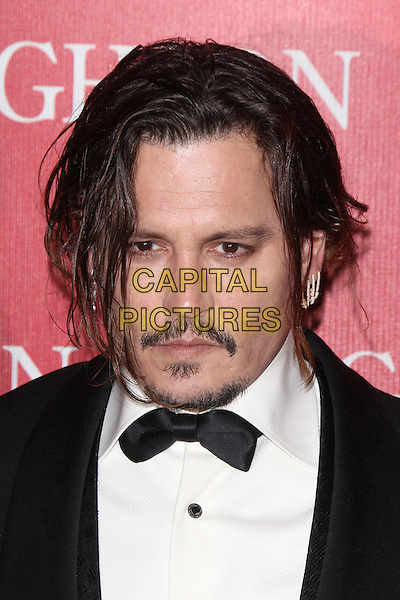 PALM SPRINGS, CA - JANUARY 2: Johnny Depp at the 27th Annual Palm Springs International Film Festival Awards Gala at Palm Springs Convention Center on January 2, 2016 in Palm Springs, California. <br /> CAP/MPI24<br /> &copy;MPI24/Capital Pictures