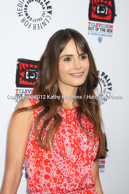 """LOS ANGELES - APR 12:  Jordana Brewster arrives at Warner Brothers """"Television: Out of the Box"""" Exhibit Launch at Paley Center for Media on April 12, 2012 in Beverly Hills, CA"""