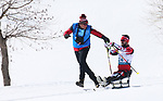 Pyeongchang, Korea, 11/3/2018-Collin Cameron competes in the 15k sitting cross country during the 2018 Paralympic Games in PyeongChang. Photo Scott Grant/Canadian Paralympic Committee.