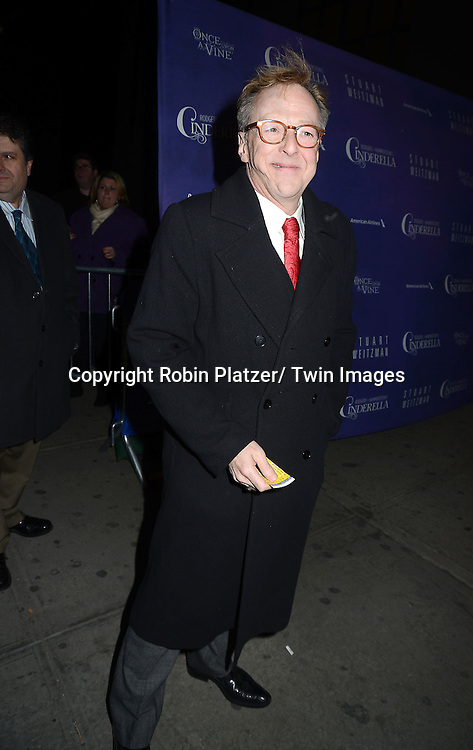 Eddie Hibbert attends Rogers +  Hammerstein's Cinderella Broadway Opening night on March 3, 2013 at the Broadway Theatre in New York City.