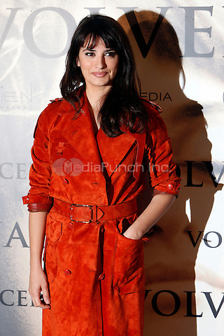 MADRID, SPAIN - JANUARY 10: Penelope Cruz Attends 'Volver a Nacer' Madrid Photocall. January 10,2013. Credit: Caro MArin/AlterPhoto/NortePhoto/MediaPUnch Inc. ***FOR USA ONLY***