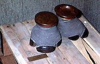 Confiscated Rhino Hoof ashtrays