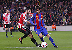 11.01.2017 Barcelona, Copa del Rey 1/8 Finals. Picture show Sergi Roberto in action during game between FC Barcelona against Athelic at Camp Nou