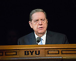 1608-44 201<br /> <br /> Education Week<br /> Elder Holland Devotional<br /> <br /> August 16, 2016<br /> <br /> Photography by: Mark A. Philbrick/BYU Photo<br /> <br /> Copyright BYU Photo 2016<br /> All Rights Reserved<br /> photo@byu.edu (801)422-7322<br /> <br /> 556