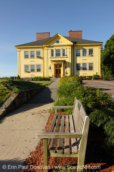 Memorial Town Hall... Located in Georgetown, Massachusetts USA , which is in  scenic New England...Notes: Originally built as an eight room schoolhouse