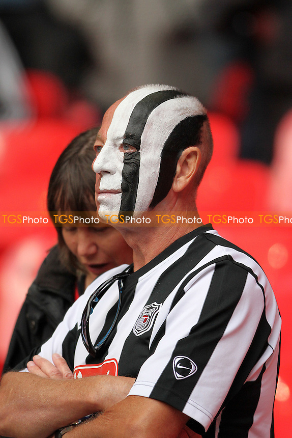 Grimsby fan during Grimsby Town vs FC Halifax Town, FA Trophy Football at Wembley Stadium on 22nd May 2016