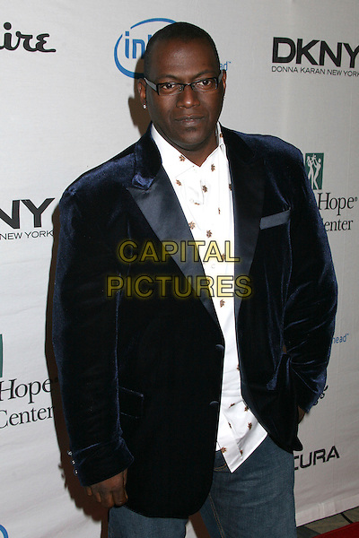 RANDY JACKSON.Songs of Hope IV at Esquire House 360°, Beverly Hills, California, USA..November 1st, 2006.Ref: ADM/BP.half length black suit jacket.www.capitalpictures.com.sales@capitalpictures.com.©Byron Purvis/AdMedia/Capital Pictures.