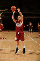 Stanford, CA - SEPTEMBER 30:  Guard Lindy La Rocque #15 of the Stanford Cardinal during Stanford's practice on September 30, 2008 at Maples Pavilion in Stanford, California.
