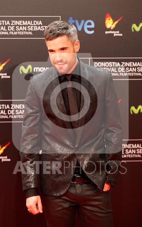 Alex Ugalde posse in the photocall of the 61 San Sebastian Film Festival, in San Sebastian, Spain. September 20, 2013. (ALTERPHOTOS/Victor Blanco)
