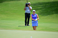 Dori Carter (USA) chips on to 9 during round 2 of  the Volunteers of America Texas Shootout Presented by JTBC, at the Las Colinas Country Club in Irving, Texas, USA. 4/28/2017.<br /> Picture: Golffile   Ken Murray<br /> <br /> <br /> All photo usage must carry mandatory copyright credit (&copy; Golffile   Ken Murray)