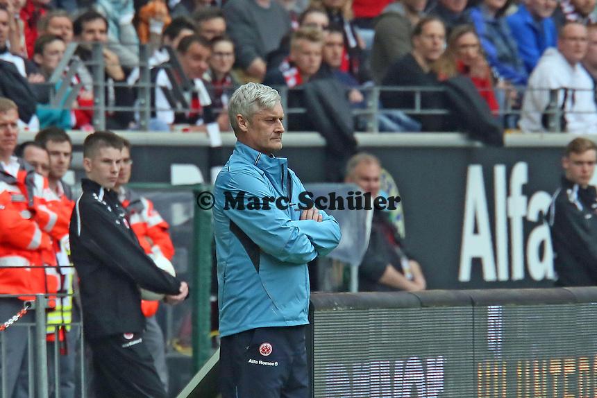 Trainer Armin Veh (Eintracht) - Eintracht Frankfurt vs. 1. FSV Mainz 05