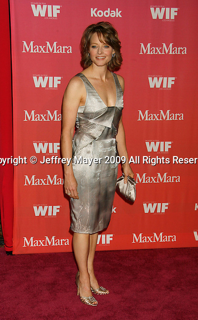 CENTURY CITY, CA. - June 12: Jodie Foster  arrives at Women In Film's 2009 Crystal + Lucy Awards held at the Hyatt Regency Century Plaza on June 12, 2009 in Century City, California.