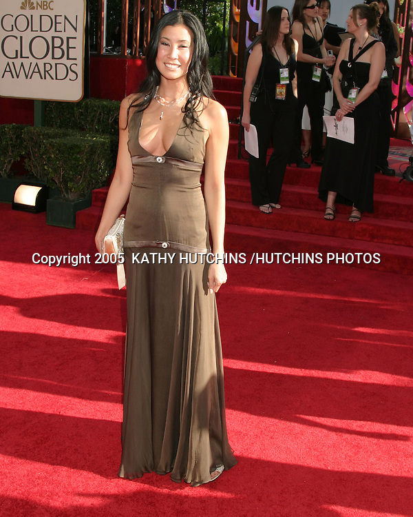 ©2005  KATHY HUTCHINS/HUTCHINS PHOTOS. 62nd GOLDEN GLOBES.BEVERLY HILTON HOTEL.BEVERLY HILLS, CA.JANUARY 16,2005..LISA LING