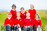 At the Quarter Finals Ladies Golf Tournament at Tralee Golf Club on Saturday were Intermediate Team l-r front  Nora Joyce, Aine Barry, Ann O'Higgins and Caroline Niceoin. Back l-r Julie Beckett, Blaithin Ni Bhric, Manager and Rosemary Sayers. from Ceann Sibeal Dingle Links Golf Club