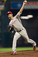 Hamels, Cole 5666.jpg Philadelphia Phillies at Houston Astros. Major League Baseball. September 6th, 2009 at Minute Maid Park in Houston, Texas. Photo by Andrew Woolley.