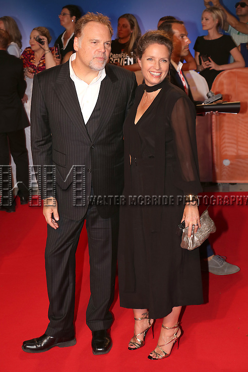 Vincent D'Onofrio and wife attends 'The Magnificent Seven' Red Carpet Gala Opening Night of the 2016 Toronto International Film Festival at TIFF Bell Lightbox on September 8, 2016 in Toronto, Canada.