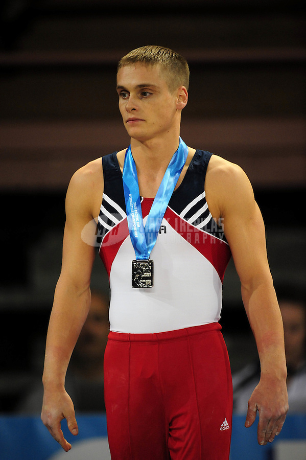 Mar 28, 2008; San Jose, CA, USA; Alexander Artemev (USA) during the mens gymnastics all around final in the Pacific Rim Championships at the Event Center Arena. Mandatory Credit: Mark J. Rebilas-US PRESSWIRE