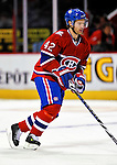 22 March 2010: Montreal Canadiens' center Dominic Moore warms up prior to a game against the Ottawa Senators at the Bell Centre in Montreal, Quebec, Canada. The Senators shut out the Canadiens 2-0 in their last meeting of the regular season. Mandatory Credit: Ed Wolfstein Photo