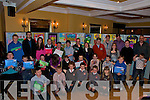 Listowel Credit Union Poster Competition. All the Prize winners of the various categories in the competition which was held at the Listowel Arms Hotel on Thursday night last.
