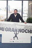 Actor Pepon Nieto pose during `Mi gran noche´ film presentation in Madrid, Spain. February 20, 2015. (ALTERPHOTOS/Victor Blanco) /NORTEphoto.com