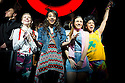 Viva Forever!. Musical with Songs by The Spice Girls. Book by Jennifer Saunders directed by Paul Garrington. With Lucy Phelps as Diamond, Hannah John-Kamen as Viva, Dominique Provost-Chalkley as Holly,  Siobhan Athwal as Lucy. Opens at The Picadilly Theatre on 11/12/12 . CREDIT Geraint Lewis