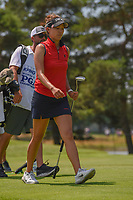Annie Park (USA) heads down 3 during round 3 of the 2018 KPMG Women's PGA Championship, Kemper Lakes Golf Club, at Kildeer, Illinois, USA. 6/30/2018.<br /> Picture: Golffile | Ken Murray<br /> <br /> All photo usage must carry mandatory copyright credit (&copy; Golffile | Ken Murray)