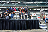 Verizon IndyCar Series<br /> Indianapolis 500 Drivers Meeting<br /> Indianapolis Motor Speedway, Indianapolis, IN USA<br /> Saturday 27 May 2017<br /> The starting field.<br /> World Copyright: F. Peirce Williams