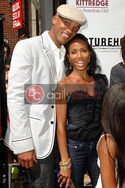 """Will Smith and Jada Pinkett Smith<br />at the world premiere of """"Kit Kittredge: An American Girl"""". The Grove, Los Angeles, CA. 06-14-08<br />Dave Edwards/DailyCeleb.com 818-249-4998"""