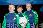 Legion manager Peter Keane and his selectors Diarmuid Leen and Chris Flanery