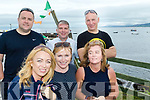 Slip way<br /> -----------<br /> Enjoying the Steer to the Pier last Sunday at Brandon in aid of the Ray of Sunshine foundation charity were, front L-R Sandra Duffy, Kathleen Stack&amp;Sheron Dodd, back L-R Bill Duffy, Seanie Gleasure with Neil Dodd all Tralee.