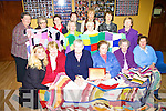 Members of Moyvane ICA Chernobyl Knitware Project pictured at the Marian Hall Moyvane on Sunday